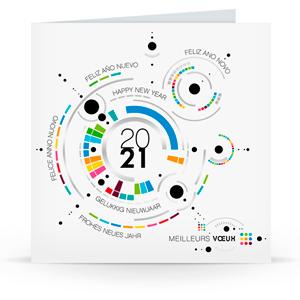 Carte de voeux C2106