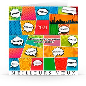 Carte de voeux C2131