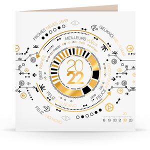 Carte de voeux C2202