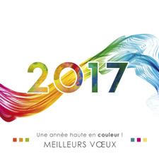 Carte bonne année C1327