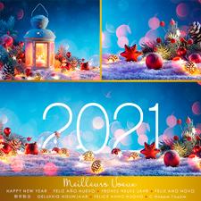 Carte de voeux virtuelle P2146