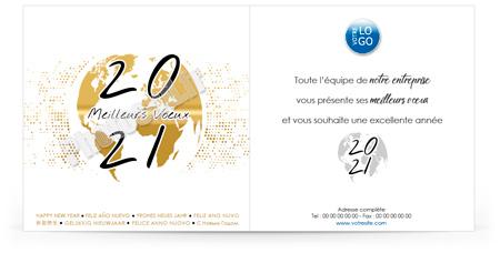 Ecard professionnelle C2005