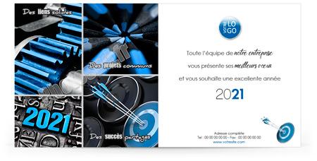 Ecard professionnelle C2017