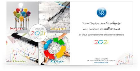 Ecard professionnelle C2020