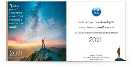 Ecard professionnelle C2030