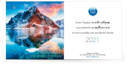 Ecard professionnelle C2036
